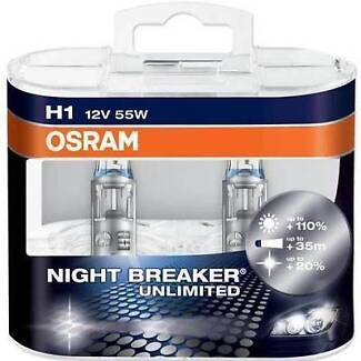 H1 H4 H7 Osram Night Breaker Unlimited St Clair Penrith Area Preview