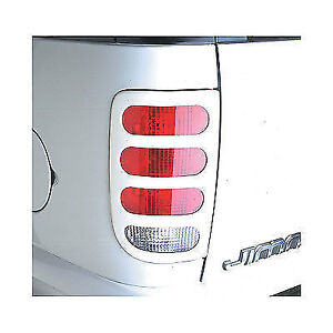 97 - 03 Tail Light Covers Slotted Chevy Blazer GMC Jimmy