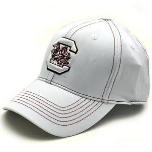 SOUTH CAROLINA GAMECOCKS LOGO PERFORMANCE ONE-FIT GOLF CAP HAT SZ L/XL
