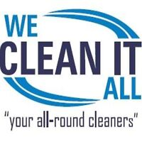 We Clean for all your needs