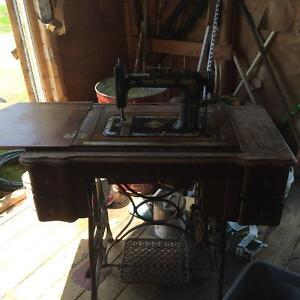 Free. Antique sewing machine