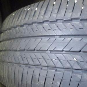 2 BRIDGESTONE TURANZA EL400 235/55R18 RUN FLAT TIRES 80% TREAD