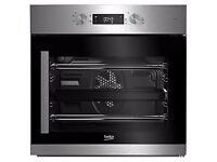 NEW - Beko BIF22300XR Built In Electric Single Oven, Stainless Steel - BARGAIN PRICE @ £160