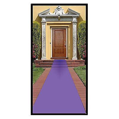 Purple Carpet Sidewalk Runner - Purple Carpet Runner