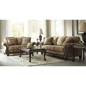 ASHLEY SOFA & LOVESEAT ONLY CLEARANCE
