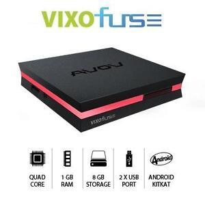 VIXO fuse TV BOX, 4K TV CAPABLE, 1080p RESOLUTION, WiFi, DOLBY DIGITAL SOUND - 2 MONTHS FREE SUBSCRIPTION