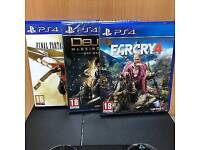 Cheap ps4 with games