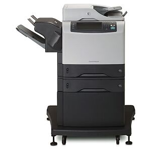 HP LaserJet 4345 MFP printer w/3 extra new toners