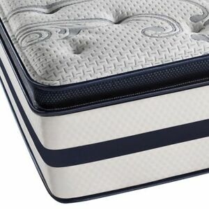 "MATTRESSES WAREHOUSE - QUEEN 2"" PILLOW TOP MAT & BOX FOR $279"