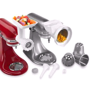 Kitchen aid Stand up Mixer attachment set BNIB!
