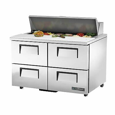 True Tssu-48-12d-4-hc 48 Sandwich Salad Unit Refrigerated Counter