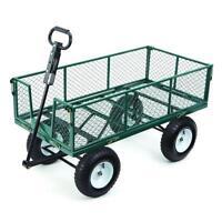 Brand new 550 lb. capacity garden cart for sale