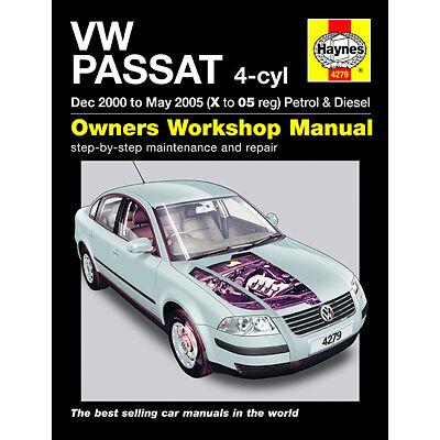 New Haynes Manual VW Passat 00-05 Car Workshop Repair Book 4279