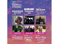 4 x James Tickets - Kew the Music 15th July