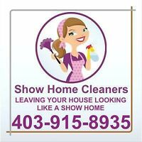 Show Home Cleaners is Hiring