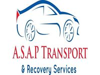 A.S.A.P. Transport recovery car & small van copart collection delivery auctions salvage recovery