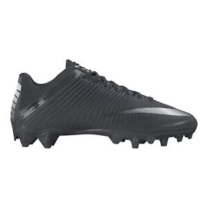 Nike Men's Vapor Speed 2 TD Football Cleats - Black/Silver, Sz 8