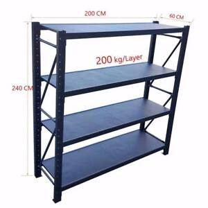 MATTE  2*24M Length Steel Warehouse Racks Storage Shelving Garag Revesby Bankstown Area Preview