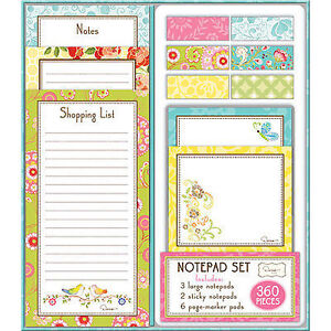 Dena Designs Floral Nature Notepad Set