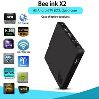 Beelink X2 H3 Android 4.4 TV Box Pre-Loaded KODI with 50+Add-ons