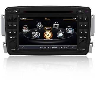 Mercedes Benz W203 2000 - 2005 DVD, CD, GPS, BT, IPOD, USB Lidcombe Auburn Area Preview
