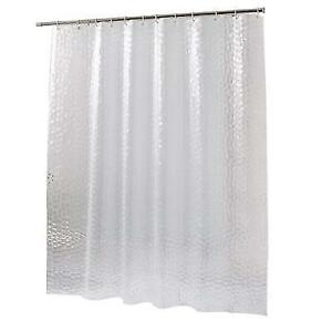 10 Guage Design Clear Shower Curtain Liner