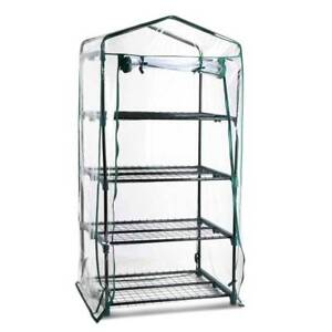 AUS FREE DEL-4 Shelf Garden Greenhouse with Transparent PVC Cover Sydney City Inner Sydney Preview