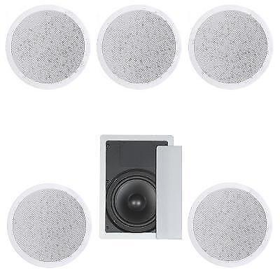 In Ceiling Surround Sound Speakers Ebay