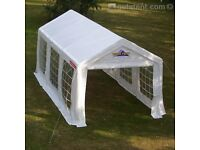 Gala Tent 3x6m Marquee, great condition, with ground bars and tie-down straps. £200