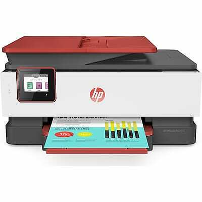 HP OfficeJet Pro 8035 All-in-One Wireless Printer | Coral  |
