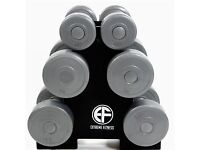 Set of 2x5kg dumbbells