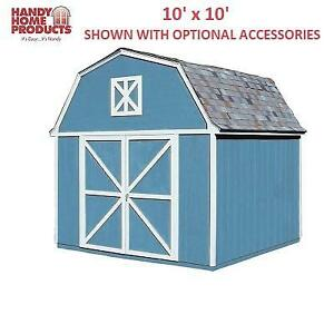NEW HANDY HOME STORAGE BUILDING 18419-2 194877492 10' x 10'  BERKLEY