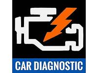 Car van code reading and light removal