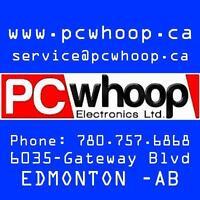 Professional PC Laptop repair and parts in Edmonton