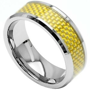 NEW GOLDEN YELLOW CHECKERBOARD WITH POLISHED TUNGSTEN
