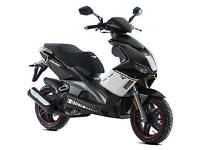 NEW Lexmoto Diablo 125 learner legal own this scooter for only £13.48 a week