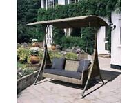Rattan Garden Swing