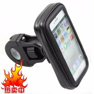 Universal Bike / Bicycle / Motorbike Waterproof Mobile Phone Stand Holder / Car Accessories