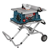 BOSCH  Worksite Table Saw (10 inch.) with Gravity-Rise