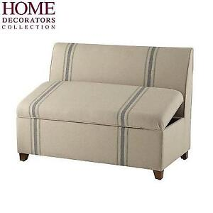 NEW HDC ADALYN LONG STORAGE BENCH - 129279968 - HOME DECORATORS COLLECTION FRENCH MARKET STRIPE