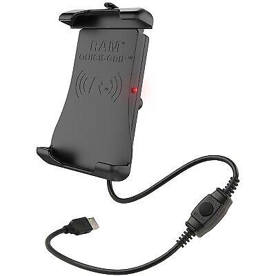 Ram Mounts Quick-Grip Waterproof Wireless Charging Easy Mount