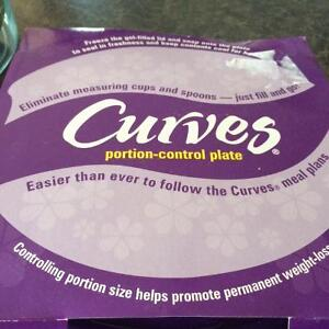 Curves Portion Control Plate