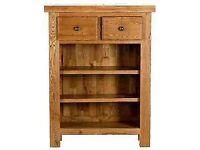 Country Manor Oak Bookcase. ....Carlton Furniture......