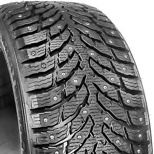 19'' Nokian Hakkapelita 9, studded (clous), like new!