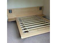 Argos henley floating double bed