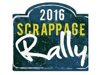 Scrappage Charity Rally 2016