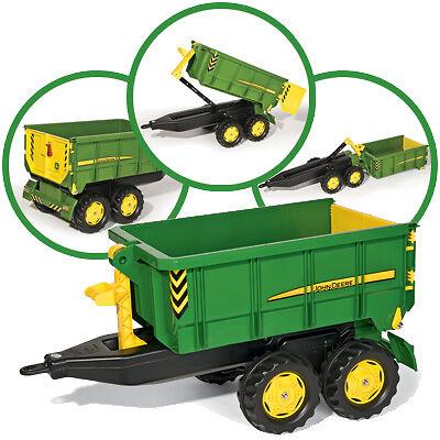 Rolly Toys RollyTrailer John Deere Anhänger Container (Grün) (John Deere Container)