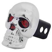 Skull Trailer Hitch Cover