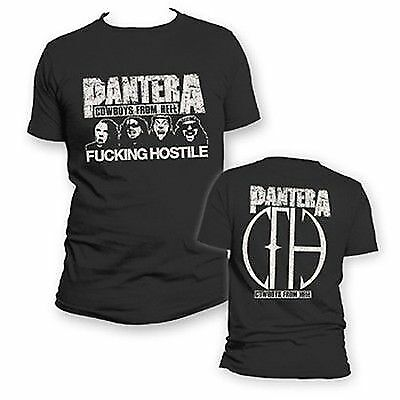 PANTERA HOSTILE MUSIC ROCK METAL BAND SHIRT S M L XL 2XL - Pantera Rock Music Band
