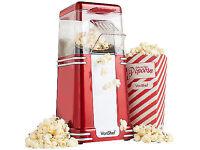 VonShef Retro Hot Air Popcorn Maker